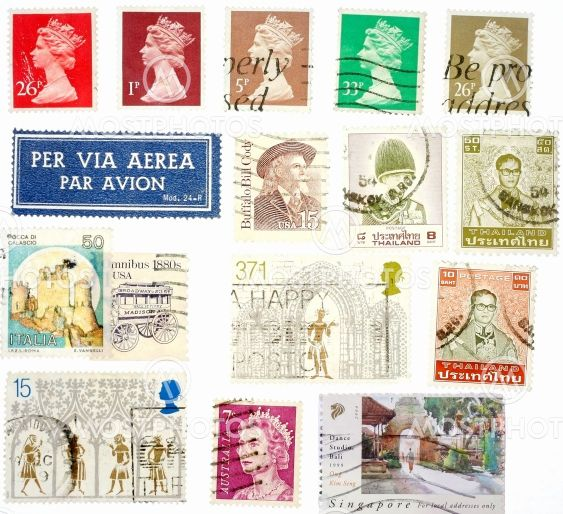 International Vintage Stamps