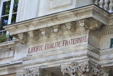 Liberty, equality, fraternity,