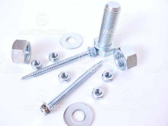 Nuts, bolts and screw
