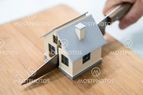 House Property Separate. Divorce And Division