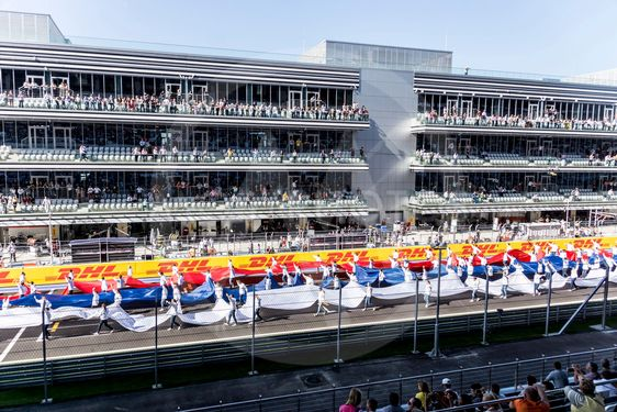 The Russian Tricolor.The Opening Grand Prix Of Russia....