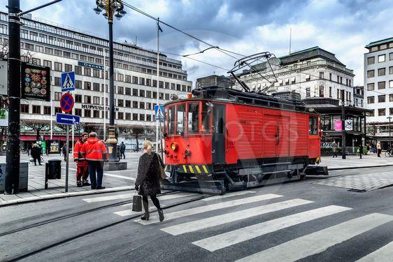 Spårvagnsfordon i Stockholm
