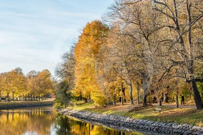 Höstfärger i Stockholm