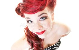 Pinup Fisheye Portrait