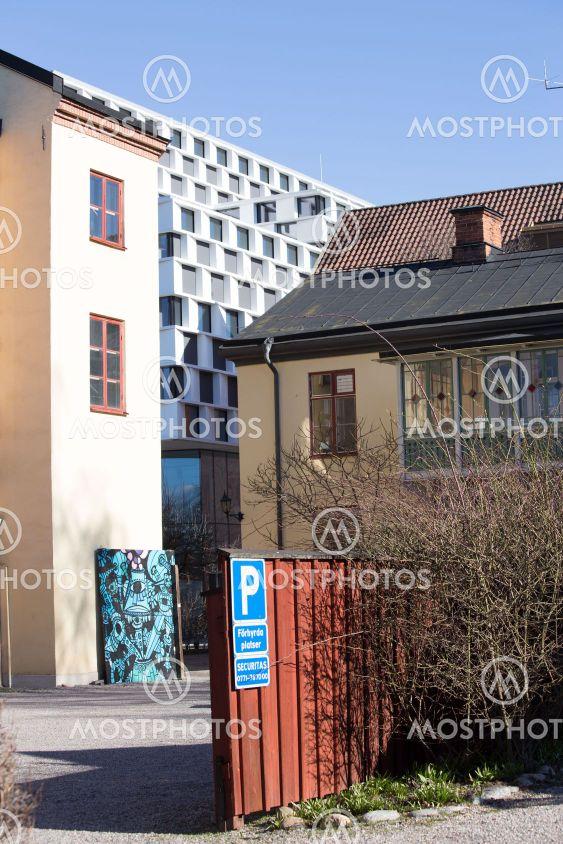 Backside of Mälardalen University