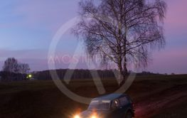Soviet and Russian SUV Lada Niva