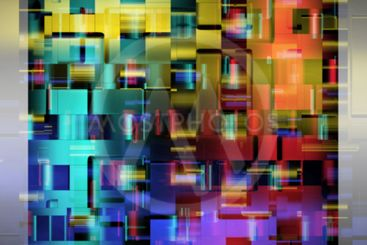 Abstract powerful background pattern