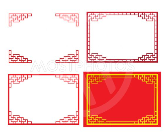 chinese ornament for card a by chatree jiamwattanasuk mostphotos chinese ornament for card a by