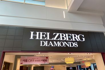 The Helzberg Diamonds storefront at the MIllenia Mall in...