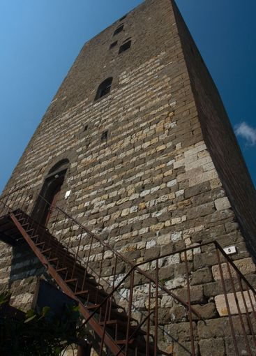 Tower in Montecatini Val di Cecina, Tuscany, Italy