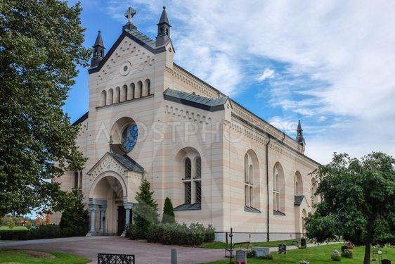 Vacker kyrka