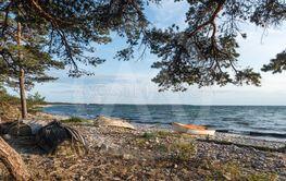 Gamla båtar på stranden vid Böda på Öland