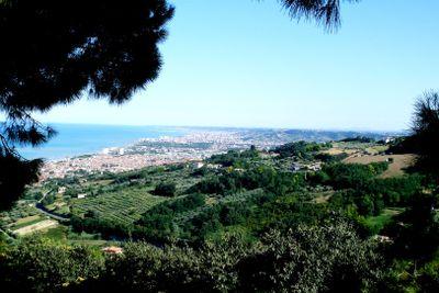 View of the Adriatic coast