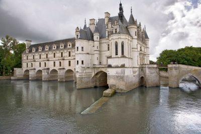 france,touraine : chenonceaux castle