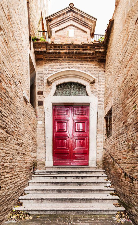 Old Italian front door