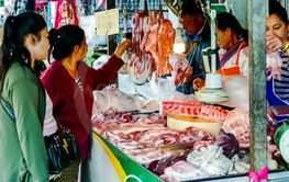 market in barcelona spain, digital photo picture as a...