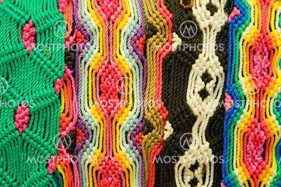 Mexican Woven Bracelets