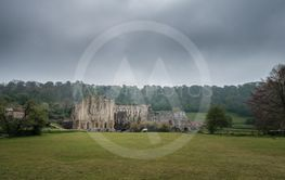 11th Century Rievaulx Abbey in North York Moors