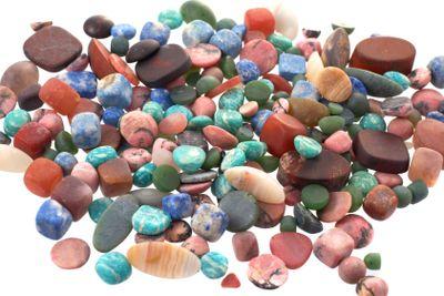 The Semiprecious stones  background