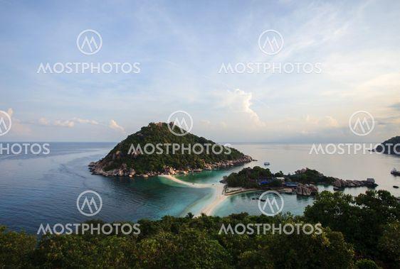 lintu silmät tarkastella vuori on nangyaun saaren suratthani Thaimaasta peräisin