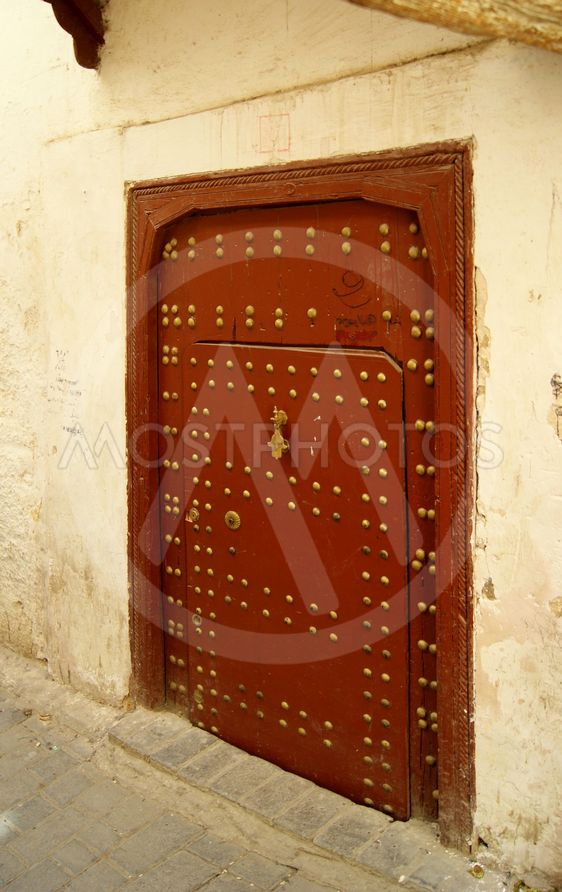 door in Fes (Morocco)