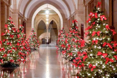 Hallway to Christmas