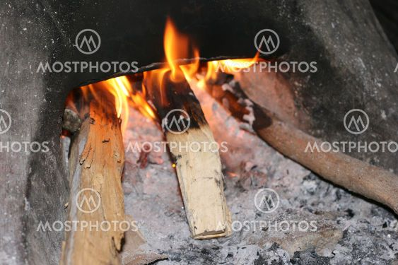 Cooking with firewoods