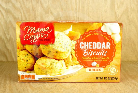Cheddar biscuit box.