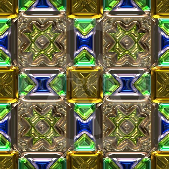 , Stained-glass background