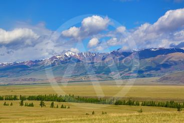 landscape in Altai mountains