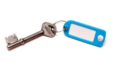 Blank tag and key
