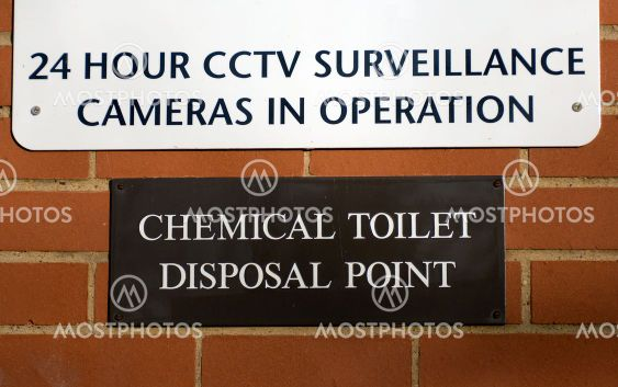 chemical toilet disposal point | Mostphotos.
