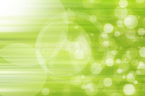 abstract circles with green lines background