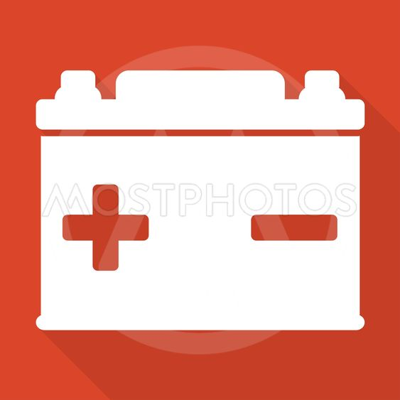 Car Battery Icon By Andrei Tarchyshnik Mostphotos