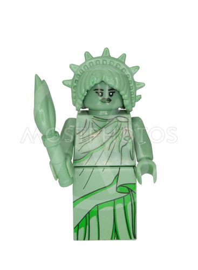 Lady Liberty Minifigure