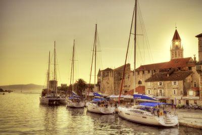 At anchor in Croatia.