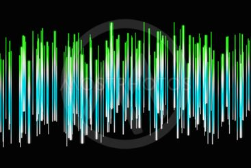 Fantastic abstract eco stripe panorama background design...