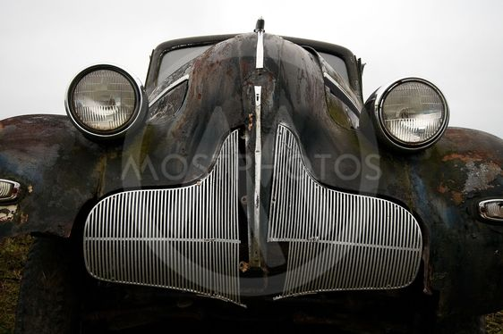 the old car