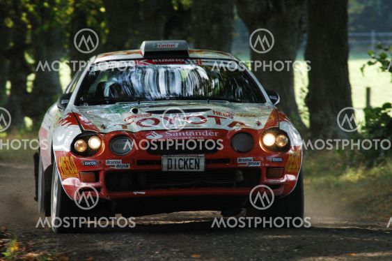 "Rally Celica featured Dicken ""featured"