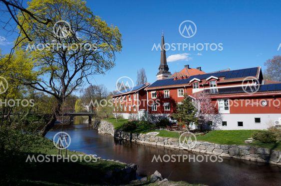 Västerås stad i vårtid