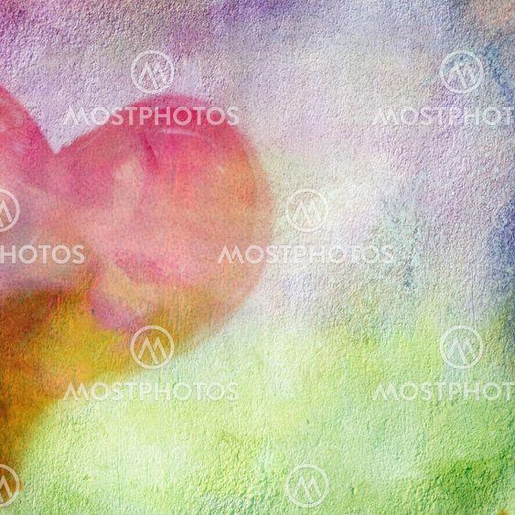abstrakti seinän kuva sydämen halvesl.