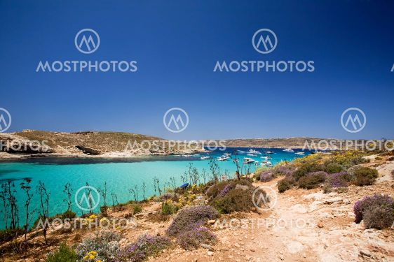 Gozo blå lagunen