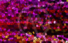 Abstract background with mosaic. Digital backdrop. render