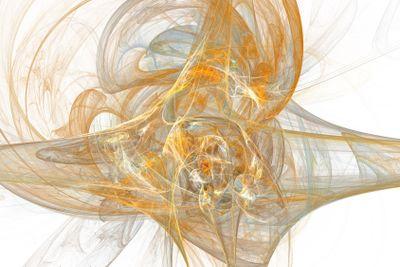 digital fractal on white