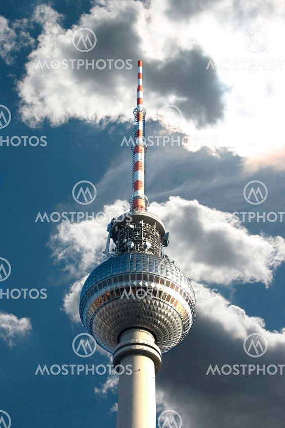 Berlin - Alexanderplatz - TV Tower