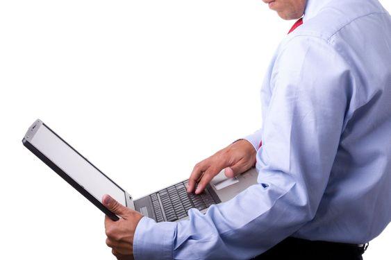toimi hänen kannettavan tietokoneen