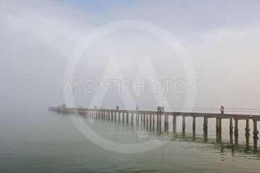 Mist Over the Bay
