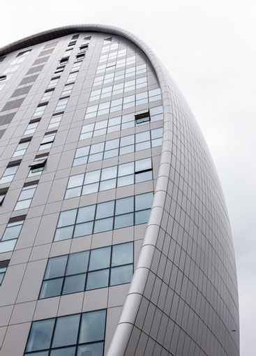 The Oval high-rise building