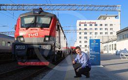 Tågresa i Ryssland