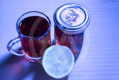 Honey Black Tea and Lemon